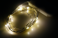 LED Draht-Lichterkette McShine Micro 20 LEDs,...
