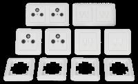 Schalter und Steckdosen Set McPower Cup Multimedia,...