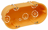Hohlwanddose McPower, doppelt, 143x48mm, inkl....