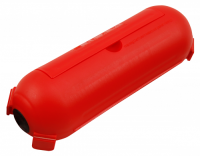 Sicherheits-Schutzbox McPower für Kabel, IP44, rot