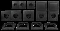 Schalter und Steckdosen Set McPower Flair Standard...