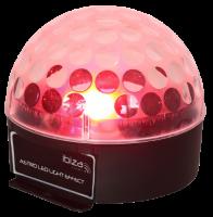 LED-Lichteffekt IBIZA ASTRO1 3x 3W RGB-LEDs, 81 Linsen