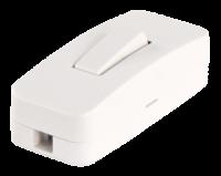Schnurschalter McPower, weiß, 250V / 2A
