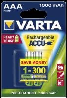 Micro-Akku VARTA Professional, Ni-MH, 1.000 mA, Typ AAA,...