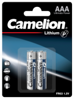 Micro-Batterie CAMELION Lithium 1,5V, Typ AAA/FR03,...