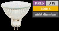 LED-Strahler McShine ET10, MR16, 3W, 250 lm, warmweiß