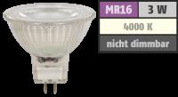 LED-Strahler McShine MCOB MR16, 3W, 250 lm,...