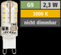 LED-Stiftsockellampe McShine Silicia, G9, 2,3W, 180 lm,...