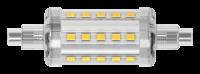 LED-Strahler, R7s, 5,5W, 550lm, 78mm, 360°, 2700K,...