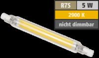 LED-Strahler McShine LS-718 R7s, 4W, 400lm, 78mm,...