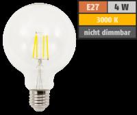LED Filament Globelampe McShine Filed E27, 4W, 470lm,...