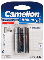 Mignon-Batterie CAMELION Lithium 1,5V, Typ AA/FR6,...