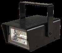 Mini-Stroboskop, LED, weiß, Batteriebetrieb