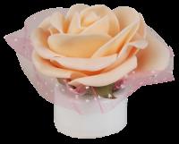 LED Weihnachts-Dekolicht Rose, 1 LED, inkl Batterie