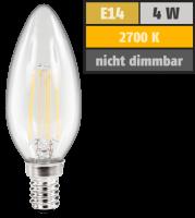 LED Filament Kerzenlampe McShine Filed, E14, 4W, 470 lm,...