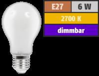 LED Filament Glühlampe McShine Filed, E27, 6W, 540...