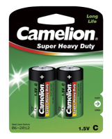 Baby-Batterie CAMELION Super Heavy Duty 1,5 V, Typ C,...