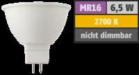 LED Strahler HD95 MR16, 6,5W, 380lm, 2700K,...