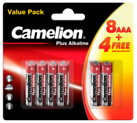 Micro-Batterie CAMELION Pus Alkaline 1,5 V, LR03 Typ AAA,...