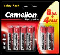 Mignon-Batterie CAMELION Pus Alkaline 1,5 V, LR6 Typ AA,...