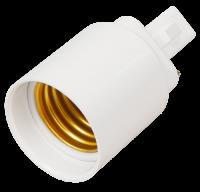 Lampensockel-Adapter McShine, G24 auf E27