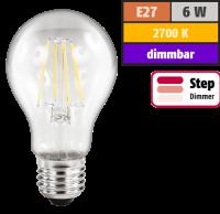LED Filament Glühlampe McShine Filed, E27, 6W,...