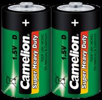 Mono-Batterie CAMELION Super Heavy Duty, 1,5 V, Typ...