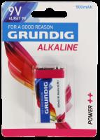 Block-Batterie GRUNDIG Alkaline, 1,5V, Typ 6LR61,...