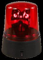 LED-Polizeilicht, rot, Höhe 11cm, Batterie betrieben