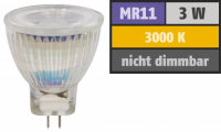 LED-Strahler McShine MCOB MR11 / G4, 3W, 250 lm,...