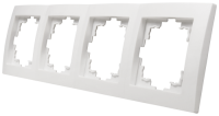 Rahmen McPower Flair, 4-fach, weiß