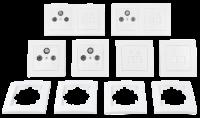 Schalter und Steckdosen Set McPower Flair Multimedia,...