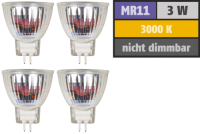 LED-Strahler McShine MCOB MR11 / G4, 3W, 250lm,...