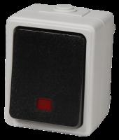 Feuchtraum Kontroll-Schalter McPower Taff, 250V~/10A,...