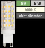 LED-Stiftsockellampe McShine, G9, 6W, 720lm, 4000K,...