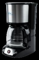 Kaffeemaschine Elta Edelstahl, 800 Watt, 12 Tassen