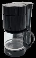 Kaffeemaschine Elta , 1000 Watt, 12 Tassen, schwarz