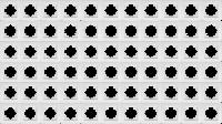 Rahmen McPower Flair, 1-fach, weiß, 66er-Pack