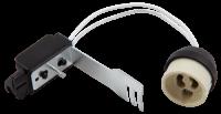 Lampenfassung McShine, GU10, Zugentlastung, 11cm Kabel,...