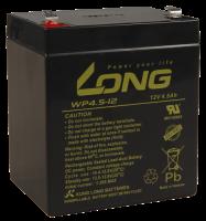 Bleiakku KUNG LONG WP4,5-12 12V/4,5Ah, 90x70x107mm, 1,62kg