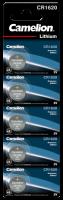 Knopfzelle CAMELION, CR1620 3,0V, Lithium, 5er-Blister