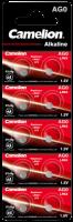 Knopfzelle CAMELION, AG0, 1,5V, Alkaline, 10er-Blister
