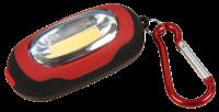 LED Taschenlampe McShine LET-63, 60lm, 3 Modi, Karabiner,...