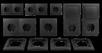 Schalter und Steckdosen Set McPower Flair Niveau...