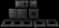 Schalter und Steckdosen Set McPower Flair Flur 13-teilig,...