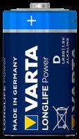 Mono-Batterie VARTA HIGH ENERGY 1,5 V, Typ D, 2er-Blister