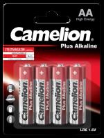 Mignon-Batterie CAMELION Plus Alkaline 1,5 V, Typ AA/LR6,...