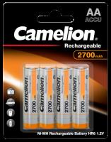 Mignon-Akku CAMELION 1,2 V, 2.700 mAh, Typ AA, NiMH,...