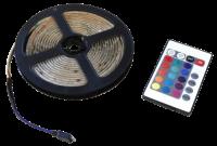 LED-Stripe GRUNDIG, RGB-Komplettset, 180 SMD LEDs, 3m