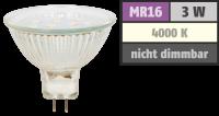LED-Strahler McShine ET10, MR16, 3W, 250 lm,...